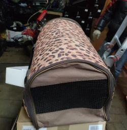 sac pentru animale de companie pentru pisici și câini mici