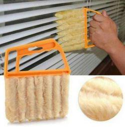Jaluzilerden ve klimalardan gelen tozları temizlemek için fırça
