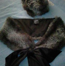 Комплект, шарф і шапка