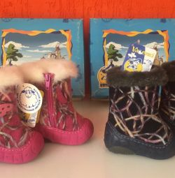 Boots kotofey for the smallest, size 18-19