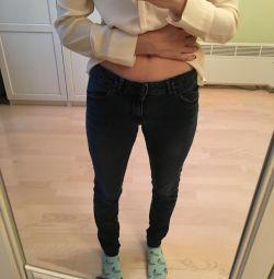 Джинси Zara темно-сині