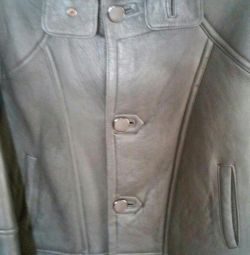 Sheepskin coat for men. Size 46-48
