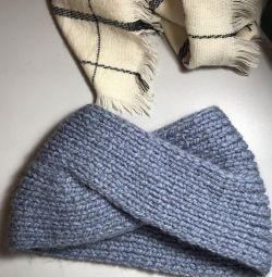 Чалма, перчатки кожаные