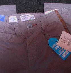 Trousers new on the boy of 6-7 years growth 122