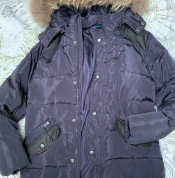 Куртка 158-164 см 10-12 років (зима)