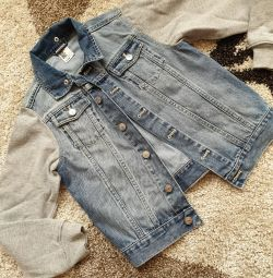 Denim jacheta 146
