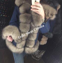 Курточки з хутром