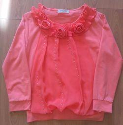 bluză elegantă pentru fete (KASALIWA)