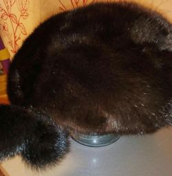 Cap-beret mink