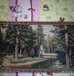 Tapestry picture Pine forest