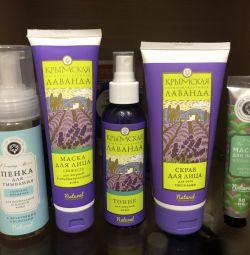 "Face care cosmetics from Crimea ""Crimean lavender"