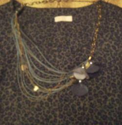 Φόρεμα γκρίζο р.46-48 + δώρο