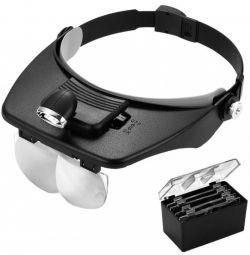Kromatech Illuminated Headband Magnifier