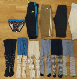 Ένα πακέτο ρούχων για το αγόρι 68-74 και 74-80