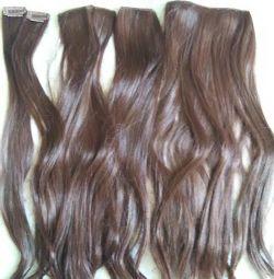 Artificial hair on hairpins