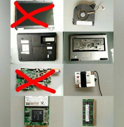Notebook Toshiba satellite I40 17U Parts