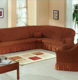 ?Euro Covers for an angular sofa + chair (header)