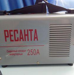 Welding machine Resanta sai 250A New