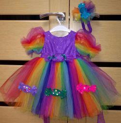 платье костюм конфетка р. 86