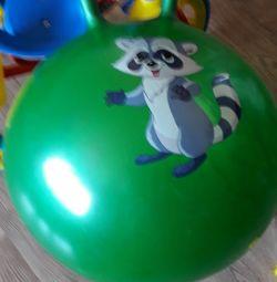 Новый мяч большой