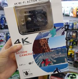 Action Camera 4K + Accessories