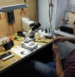 School of training on the repair of smartphones