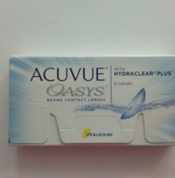 Lenses acuvue 2 week and one-day
