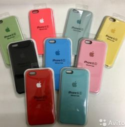 Θήκη σιλικόνης θήκη iPhone 5s, 6, 7, 8,.