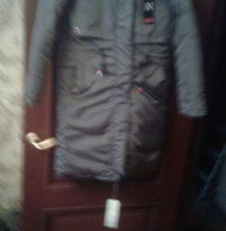 Jachetă feminină nou 44 de dimensiuni bilaterale