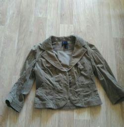 Corduroy jacket 3/4 sleeve