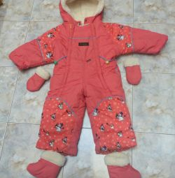 Winter overalls for growth 92-98