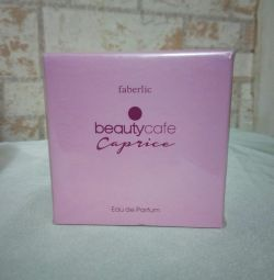 T. Water Beauty Cafe Caprice Faberlic
