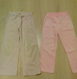 Pantaloni din velur timp de 4 ani