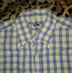 Мужская рубашка р. 48