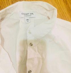 Lengthened shirt