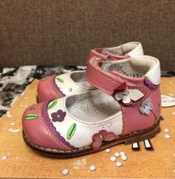 ELEGAMI δερμάτινα παπούτσια 19 μεγέθους