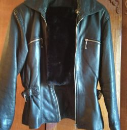 Куртка кожа раз М