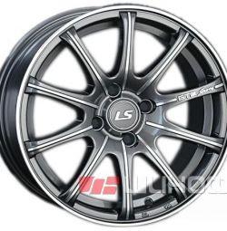 Колесные диски LS Wheels LS 317 6.5x15 PCD 5x105 ET 39 DIA 56.6 GMF