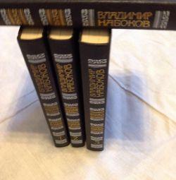 New books Vladimir Nabokov 4 volumes.