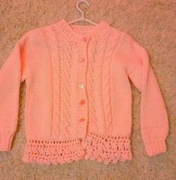 Baby gently pink jacket