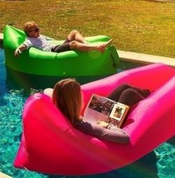 Inflatable sofa bed. NEW