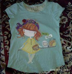 Μπλουζάκι για το κορίτσι F.Περισσότερο rr 110 εκ.