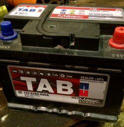 Νέα μπαταρία TAB Magic 62Ar
