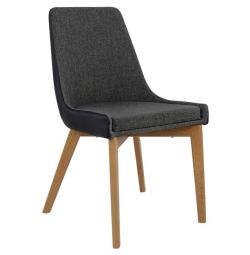 ALKMINI CHAIR HM0142.01 WITH GRAY AND PU GR