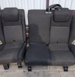 Сидіння Land Rover Freelander 2