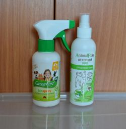 Spray from fleas, ticks and mosquitoes