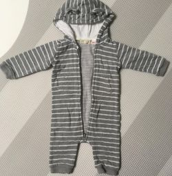 Spring overalls (3-6 months)