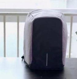 Backpack with hidden pockets