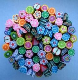 Ρολά λουλουδιών για 3D μανικιούρ λουλουδιών