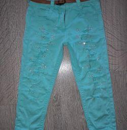 джинсики со стразами